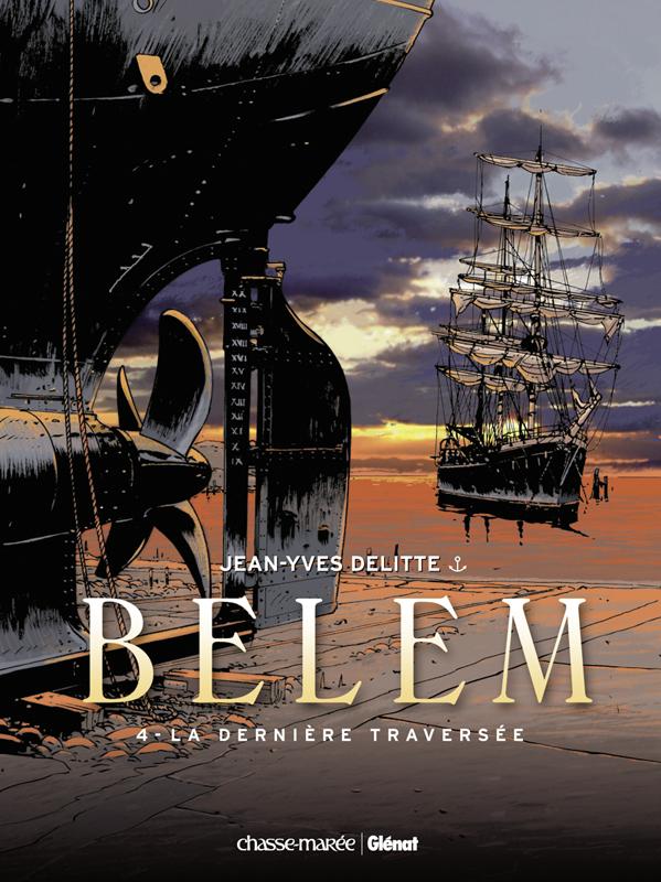 Bande Dessinée : Le Belem tire ses derniers bords