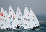 Laser radial medal race SOF 2011