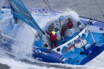 Transat Jacques Vabre 2011 virbac paprec 3 dick et beyou en tte  l&#039;approche des antilles