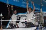 Transat Jacques Vabre Imoca Dick et Beyou sur Virbac-Paprec 3 vainqueurs  Puerto Limon