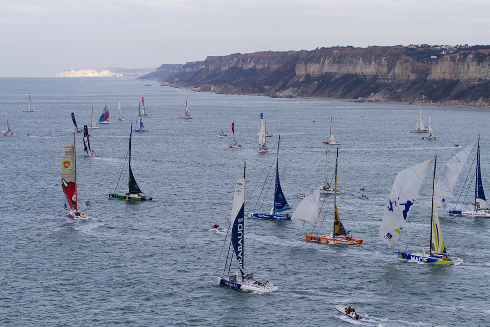 nauticnews 187 archive 187 transat jacques vabre un d 233 part en trombe