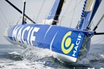Francois Gabart skipper macif imoca 60 pieds vainqueur de la transat B to B