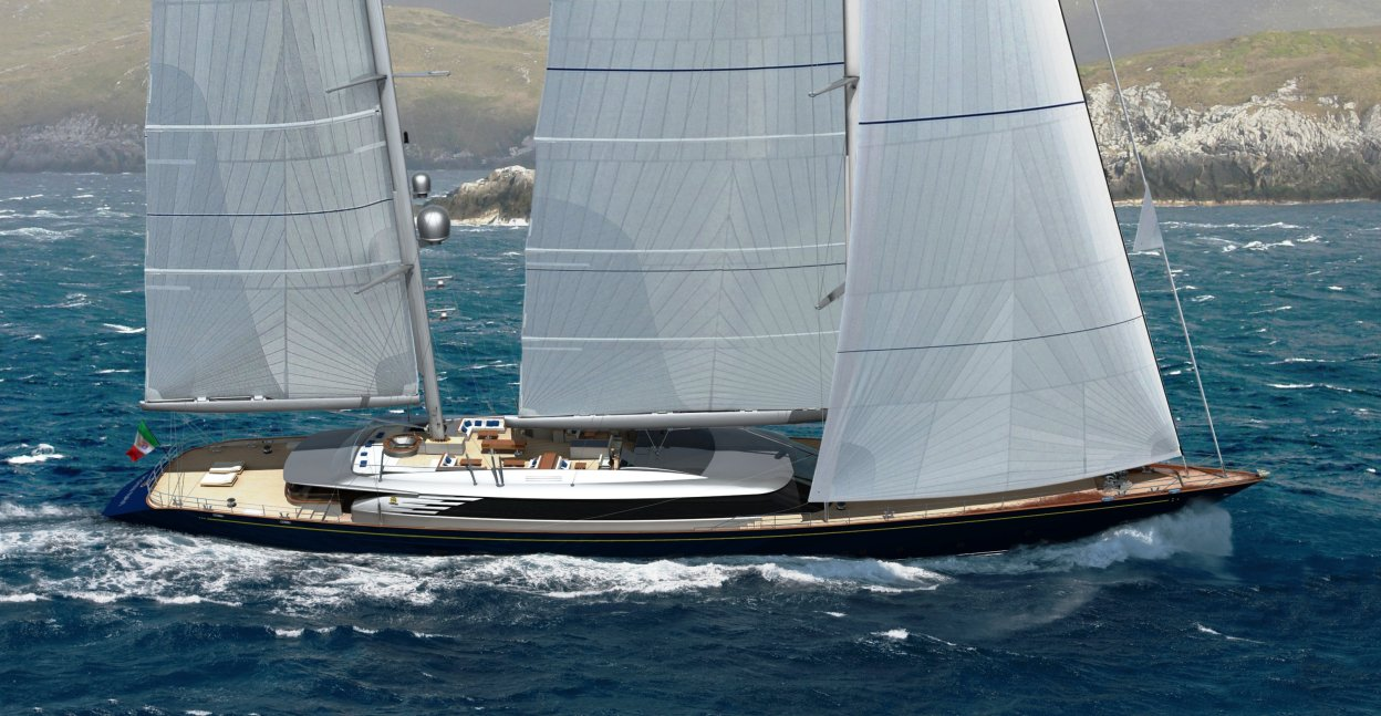 Perini Navi: Sales contract for hull number one of the 69m sailing yacht