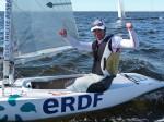 Voile Olympique 2,4 Damien Seguin triple champion du monde