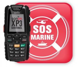 le Sonim XP3 SENTINEL SOS MARINE: dédié à la sécurité des marins