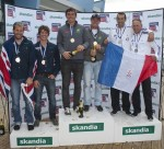 sail for gold podium 49er