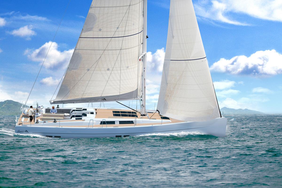 Hanse Yachts place la barre haut avec le 575