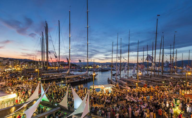 Les voiles sont tombées sur Saint Tropez