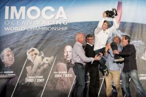 François Gabart Champion du Monde IMOCA 2012