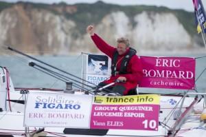 Solitaire du Figaro : Yann Eliès sur la plus haute marche