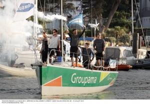TFV : Et trois victoires de ralliement pour Groupama 34 !