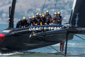 America's Cup : ORACLE TEAM USA takes another step towards defending the title
