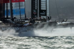 America's Cup : ORACLE TEAM USA, Emirates Team New Zealand in winner-take-all race
