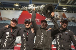 ORACLE TEAM USA stages massive comeback to win 34th America's Cup