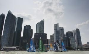 Extreme Sailing Series : Realstone se démarque dès la première journée