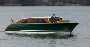 Hodgdon Yachts built tender wins with Limo T/T  Sea Owl by Andrew Winch Designs
