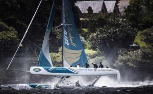 Extreme Sailing Series : McMillan tops the table in Sydney after an epic 10-race day