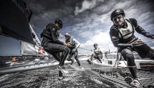 Extreme Sailing Series : Advantage Alinghi – but Sydney & Series podium places still open