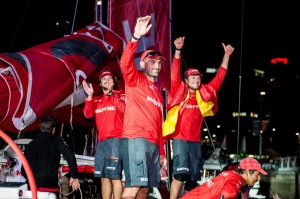 Volvo Ocean Race : Xabi delivers memorable Leg 4 win
