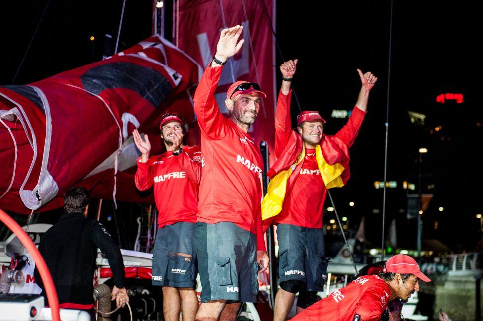 Volvo Ocean Race : Xabi delivers memorable Leg 4 win