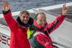 Trophée Jules Verne : Joyon est passé à l'ouest!