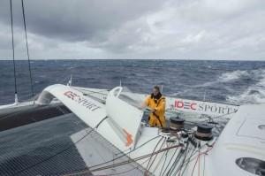 Trophée Jules Verne : Changement de décor pour IDEC Sport