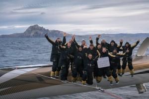 Trophée Jules Verne : Au Cap Horn!