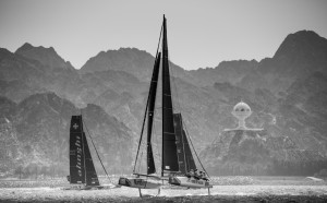 Extreme Sailing Series : sensational opening day