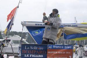 Solitaire Bompard Le Figaro : Yoann Richomme au sommet (2ème étape)