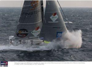 Jean Le Cam sixth in the Vendée Globe