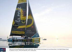 Vendée Globe :  Arnaud Boissières takes tenth place
