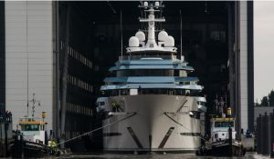 Oceanco launches the largest yacht ever built  in The Netherlands – 110m/361ft project JUBILEE
