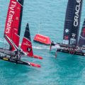 America's Cup : Spithill and team beat Burling and Ainslie to earn bonus for Match