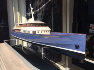 Royal Huisman : Project Marlin scale model unveiled