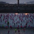 La grande Seine du Nautic SUP Paris Crossing