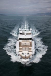 "M/Y ""CHRISTELLA II"" delivered, the first Benetti Delfino 95'"