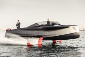 Enata Marine Foiler : the flying yacht