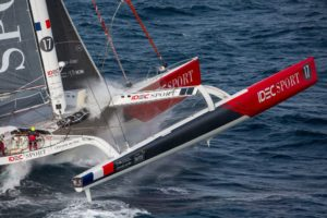 Route du Rhum-Destination Guadeloupe 2018 : End of Day 3 – things improving for some but more bad weather on the way