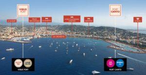 Le Cannes Yachting Festival 2019 occupera désormais toute la baie de Cannes et ses deux ports