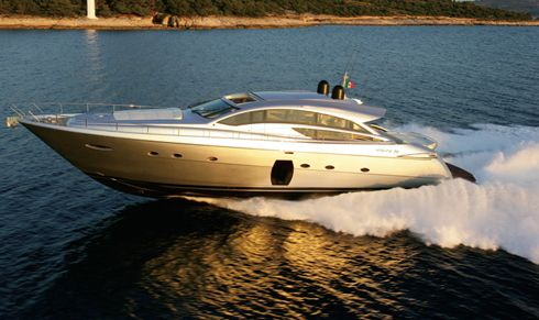 ... its latest model, the Pershing 72, at this year's summer boat shows.