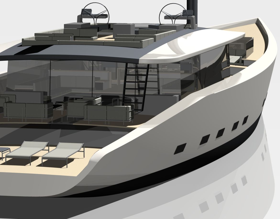 Tenders Yachts Progetti Pinterest Yacht Boat - Giga yacht takes luxury oil tanker sized extreme