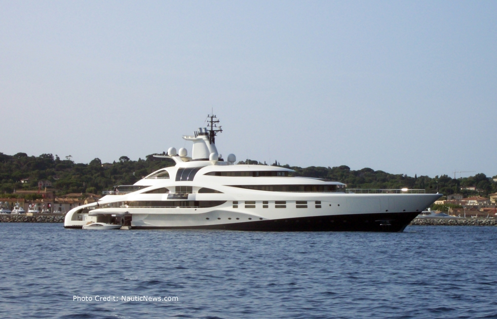 Blohm & Voss <strong>Palladium</strong> (Motor Yacht)