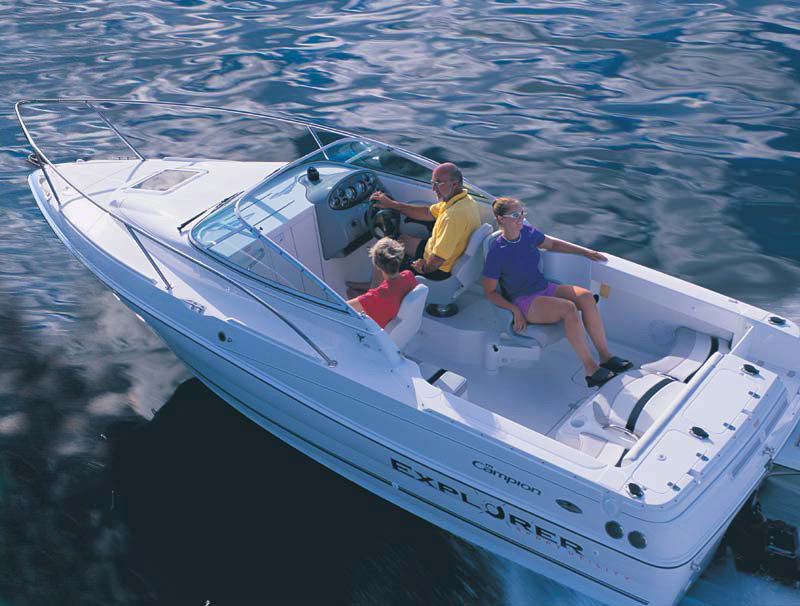 Campion Boats Explorer 602 i SC (Day cruiser)
