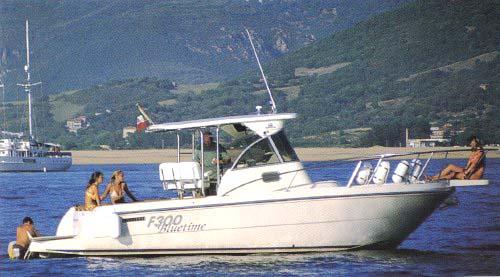 Cantieri Estensi F 300 Bluetime (Pêche Promenade)