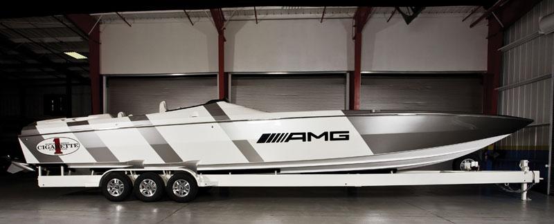 Cigarette Racing 46 AMG (Sport)