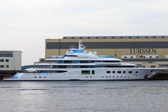 Lürssen <strong>Quantum Blue</strong> (Motor Yacht)