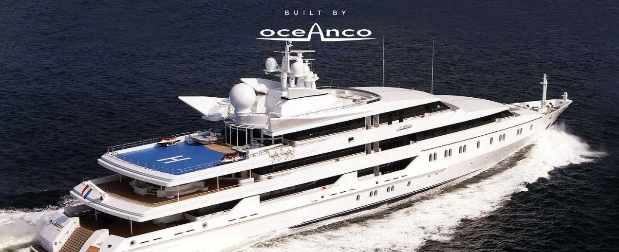 Oceanco <strong>Indian Empress -ex Al Mirqab</strong> (Motor Yacht)