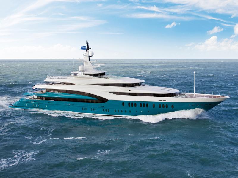 Oceanco <strong>Sunrays</strong> (Motor Yacht)