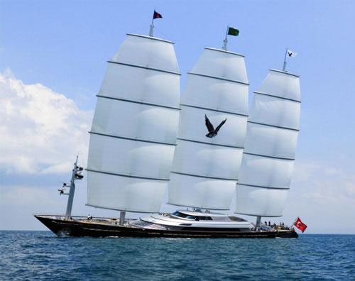 Perini Navi <strong>Maltese Falcon</strong> (Voilier)