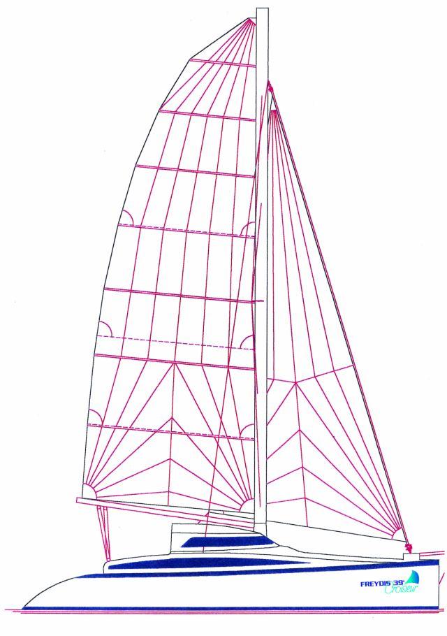 Tournier Marine Freydis 39 Croiseur (Voilier)